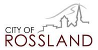 Rossland, BC logo